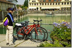 Bicycling in Lake Constance