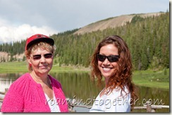 Mom & Colette At Poudre Lake