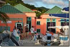 The Group Meets at Nanny Cay