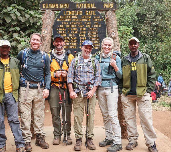 Kilimanjaro Group Photos